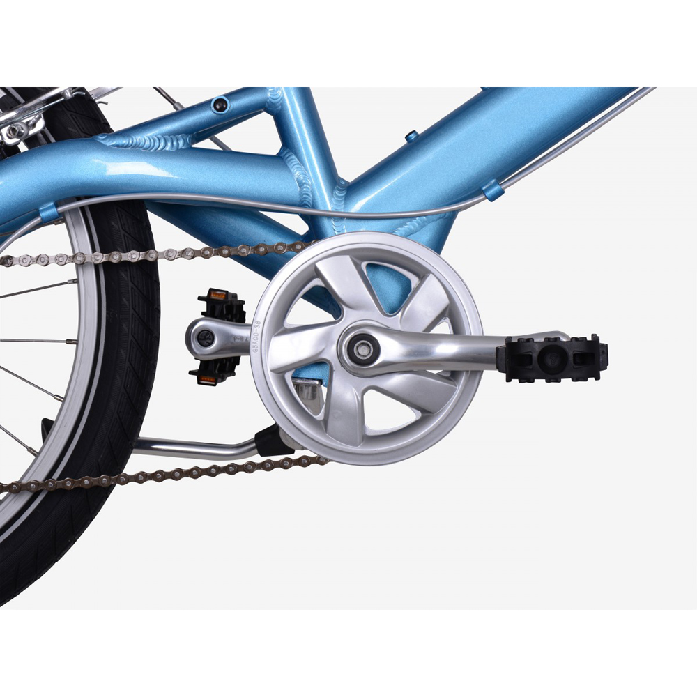 Велосипед KOKUA LIKEtoBIKE 20 light blue голубой 1