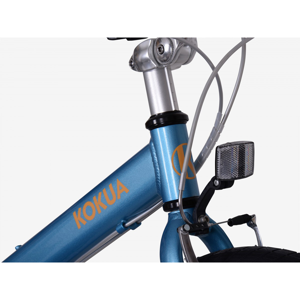 Велосипед KOKUA LIKEtoBIKE 20 light blue голубой 2