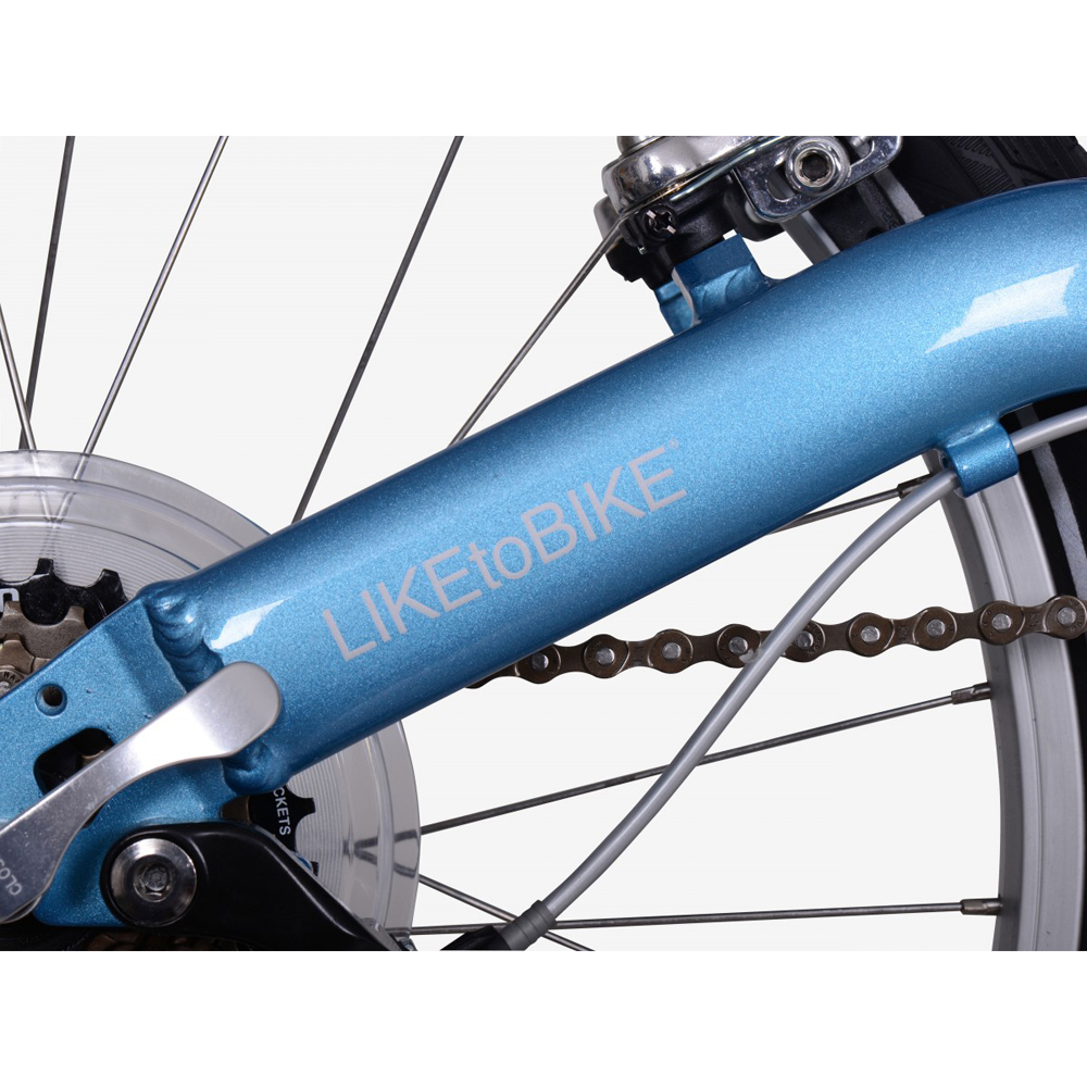 Велосипед KOKUA LIKEtoBIKE 20 light blue голубой 3