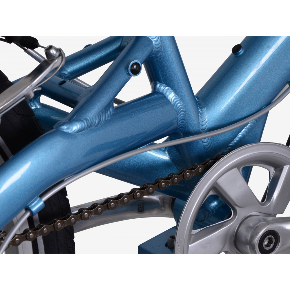 Велосипед KOKUA LIKEtoBIKE 20 light blue голубой 4