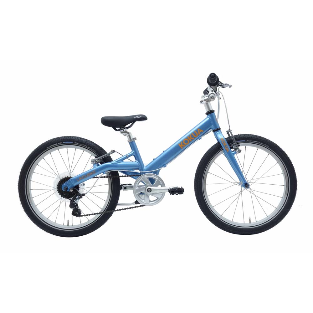 Велосипед KOKUA LIKEtoBIKE 20 light blue голубой